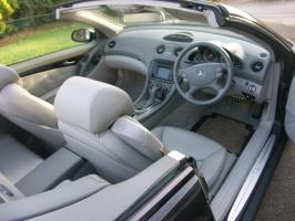 Mercedse  SL500 interior