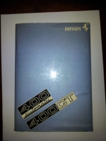Ferrari 400 handbook/manual