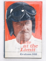 Life at the Limit by Graham Hill. Signed copy