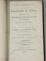 Refelctions on the Revolution in France by Edmund Burke 1790