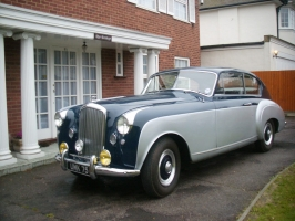 Bentley Mark V1 Mulliner fastback