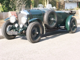 Short chassis W O Bentley 4 1/2 litre.