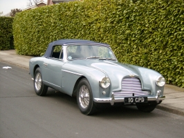 Aston Martin DB 2/4 Mk 2 drop head.