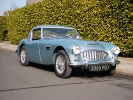 Austin Healey Ruddspeed.