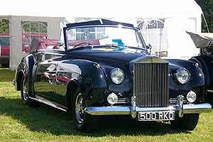 Rolls Royce Silver Cloud II origninal factory drop head.