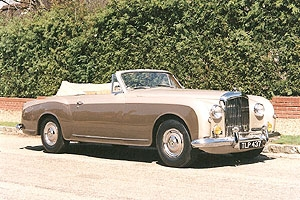 Bentley S1 Continental Park Ward Drop Head