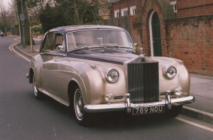 Rolls Royce Cloud 1 manual gearbox